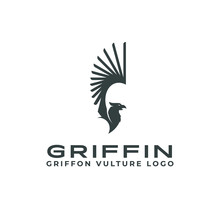 Griffin Logo Mascot Animal Fan...