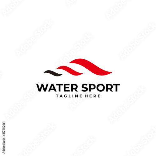 sport logo icon vector isolated Canvas Print