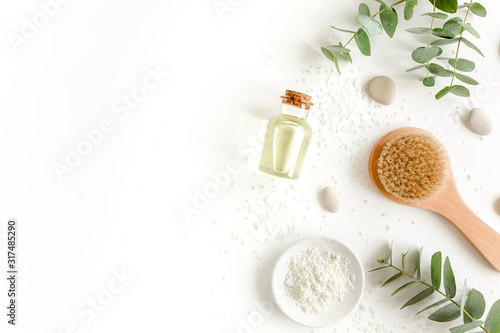 Fototapety Spa   spa-background-natural-organic-spa-cosmetics-products-eco-friendly-bathroom-accessories