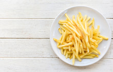 Tasty Potato Fries For Food Or...