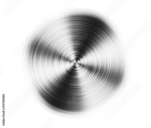 Fototapeta aluminum detail, on white obraz