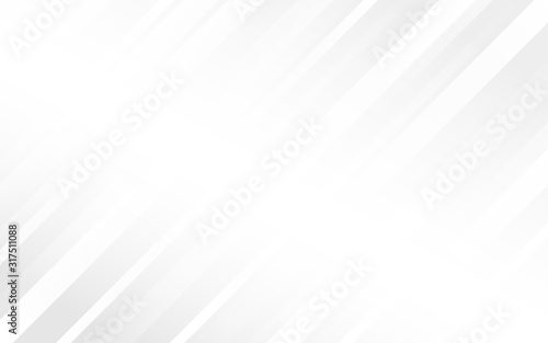 Cuadros en Lienzo Light gray geometry abstract subtle background vector