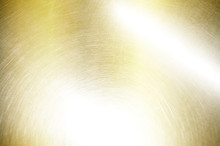 Gold Metal Scratched Steel Bru...