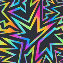 Colored Stars Geometric Seamle...