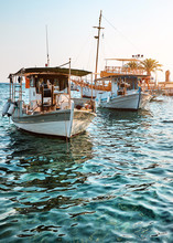 Authentic Fishing Boats By Pie...