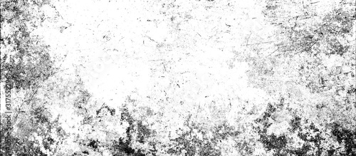 Fotografie, Obraz White and black abstract grunge background.