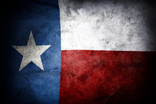 Grungy Texas Flag