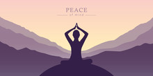 Peace Of Mind Meditation Conce...