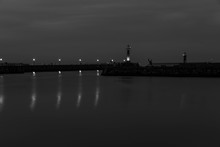 Whitby On A Winters Evening