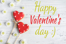 Greeting Valentine Card. Postc...