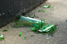 Broken Bottle Of Beer