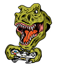 Dinosaur Gamer Which Play Game