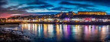 Panoramic View Of Whitby Harbo...