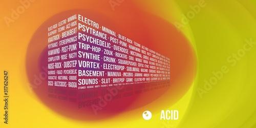 Acid Fototapeta
