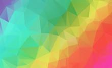 Colorful Gradient Mosaic Backg...