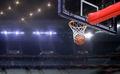 Košarka je pucala u obruč u natjecateljskoj igri