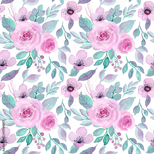 fioletowy-kwiat-akwarela-bez-szwu-p