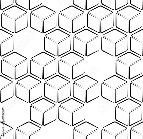 seamless-pattern-with-black-lines-cube