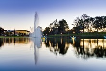 Torrens River & Water Fountain...