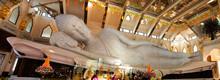 Large Reclining Buddha Marble ...