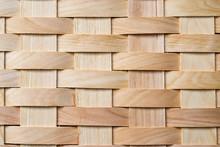 Wood Basket Weave