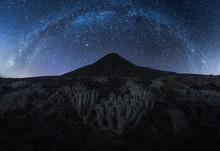 Milky Way In Jandia, Fuerteven...