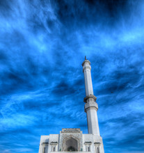 Mosque At Europa Point, Gibraltar