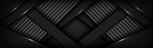 Abstract Luxurious Dark Carbon...