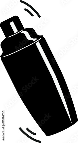 Fotografia shaker icon - vector illustration.