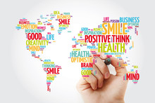 Positive Thinking Word Cloud I...
