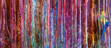 Colorful Abstract Wall Backgro...