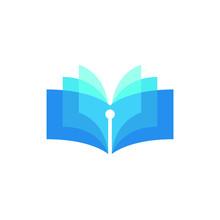Book Logo Literature Education...