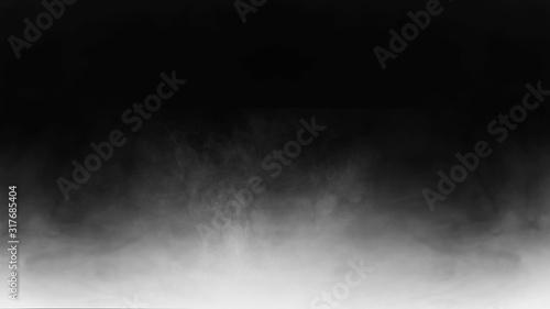Fototapeta gray somoke photo overlay, fog photo overlay obraz