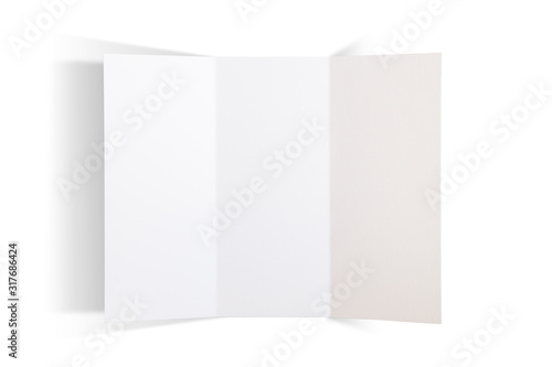 Photo trifold brochure