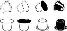 Coffee Capsule Icon - Vector I...