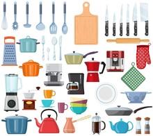 Kitchen Tools Set Icon. Kitche...