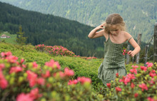 GIRL IN THE MOUNTAIN