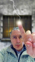 A Small Electric Shock Hits A ...