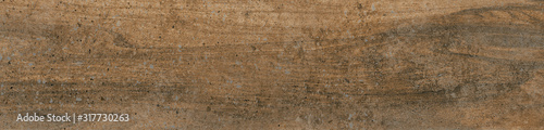 Obraz Dark brown wood texture background with natural striped pattern, wooden panels surface for ceramic tile design and add text or design decoration artwork, wallpapers, Soft vintage desaturated filtered. - fototapety do salonu