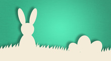 Bunny Rabbit Easter Colorful C...