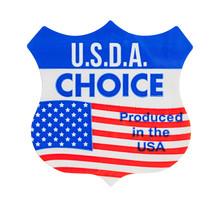USDA Choice Sticker