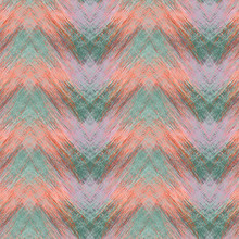 Seamless Colorful Zigzag Patte...