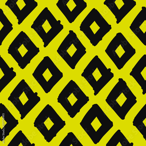Fotomurales - Abstract geometric fabric pattern for your design
