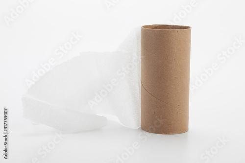 Fotografie, Obraz rollo de papel higienico