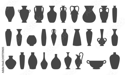 Photo Vases and amphoras collection