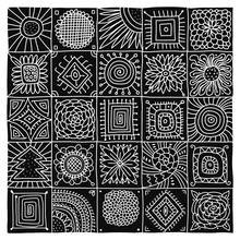 Abstract Geometric Pattern For...