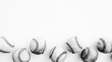 Isolated Baseball Balls Close ...