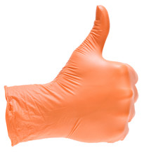 Hand With Thumb Up Isolated On...