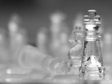 Chess Piece On Chessboard, Com...