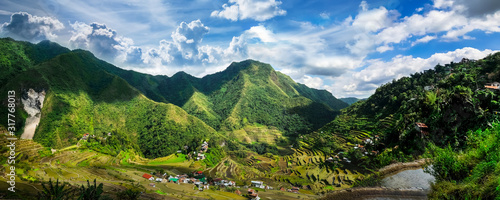 Photo Rice terraces. Banaue, Philippines
